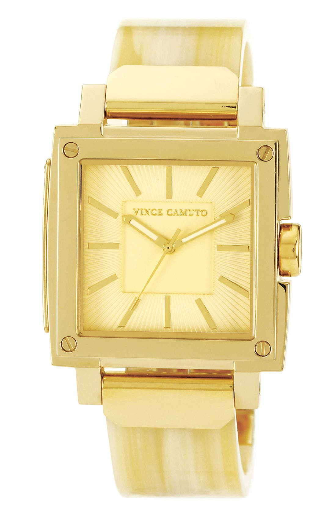 Main Image - Vince Camuto Square Case Bangle Watch, 33mm