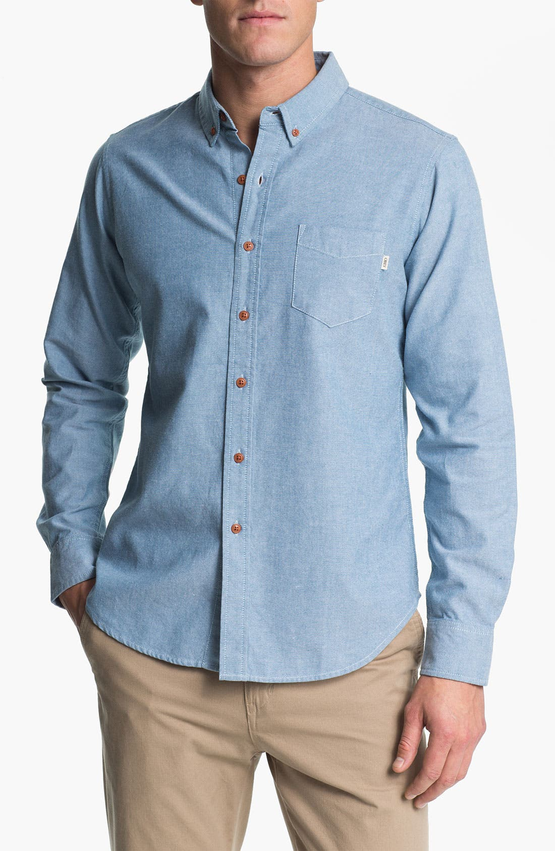 Alternate Image 1 Selected - Obey 'Ryan' Chambray Shirt
