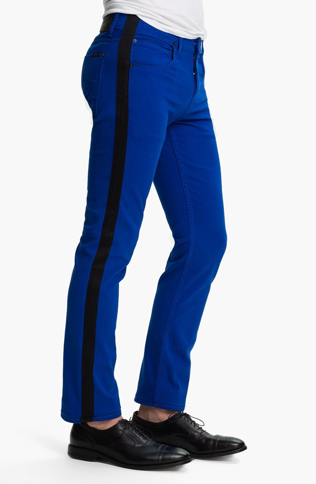 Alternate Image 3  - Hudson Jeans 'Lou' Slim Straight Leg Jeans (Blue My Mind)