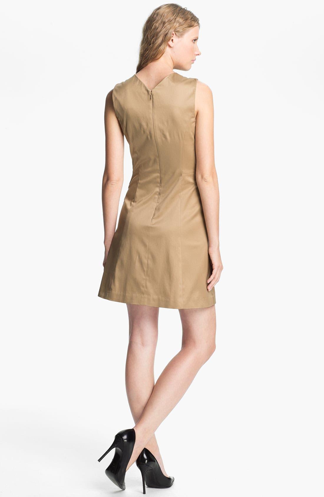 Alternate Image 2  - Theyskens' Theory 'Fuku Durran' Pintuck Dress