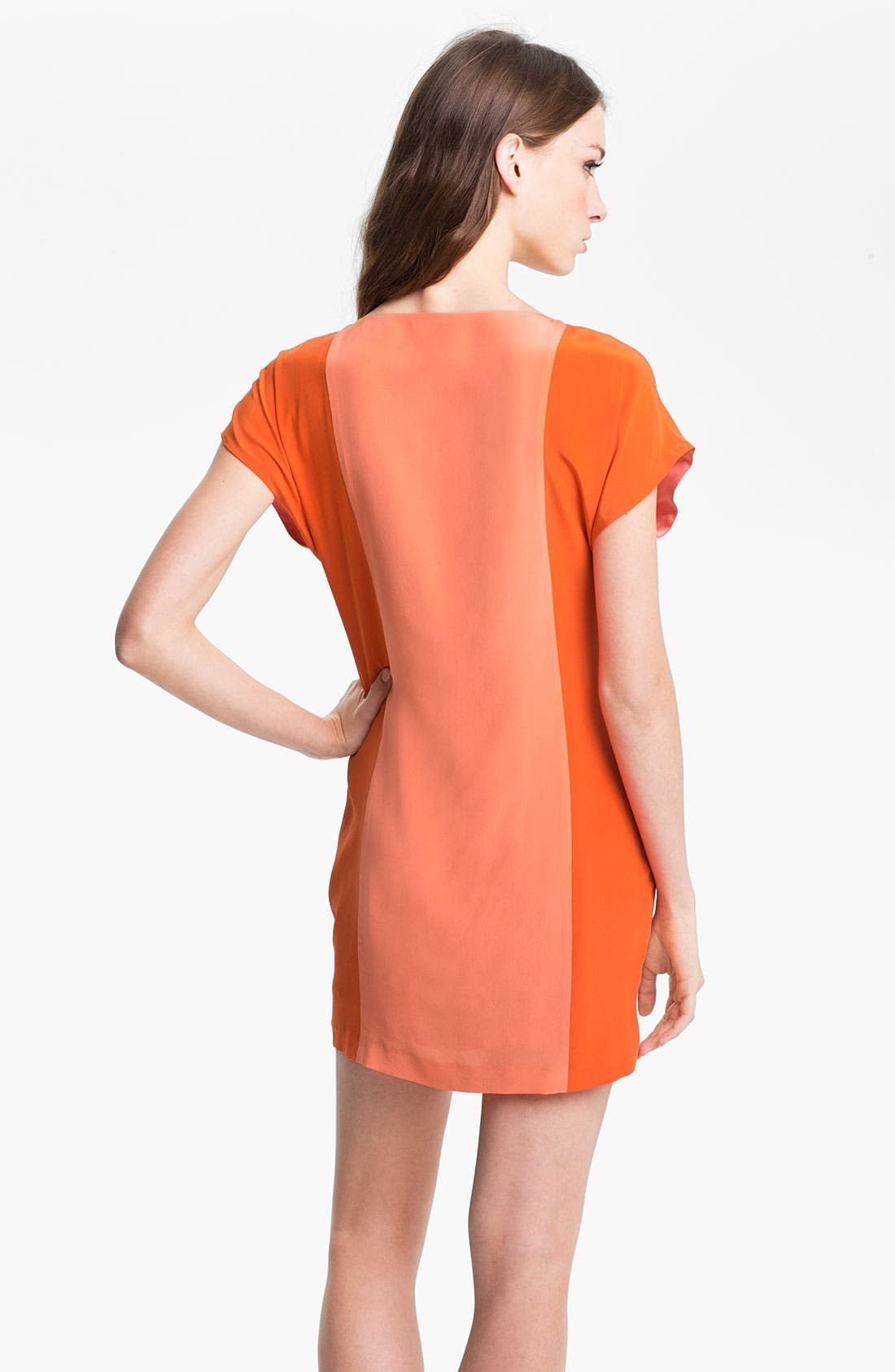 Alternate Image 2  - Trina Turk 'Edgewater' Embellished Silk Shift Dress