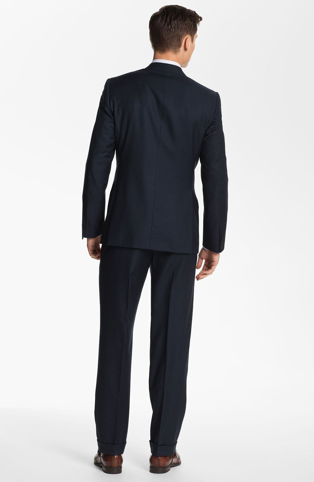 Alternate Image 3  - Billy Reid 'Campbell - Heirloom Collection' Wool Suit