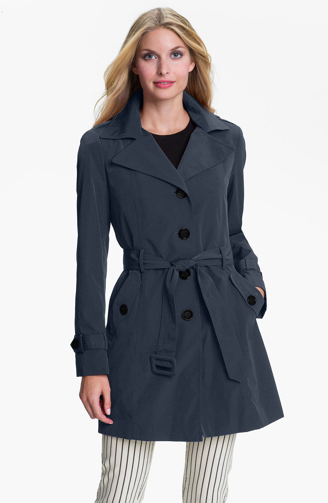 Alternate Image 1 Selected - Calvin Klein Trench Coat with Detachable Liner (Online Exclusive)