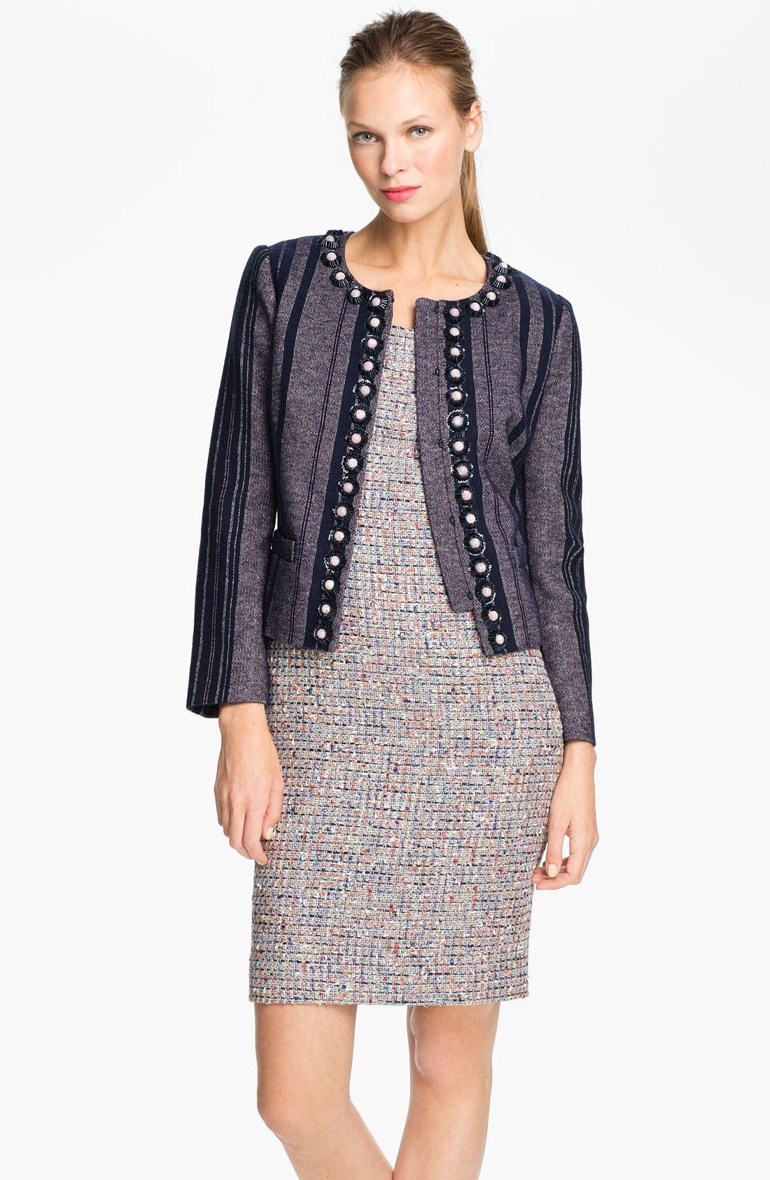 Main Image - Tory Burch 'Eliza' Embellished Jacket