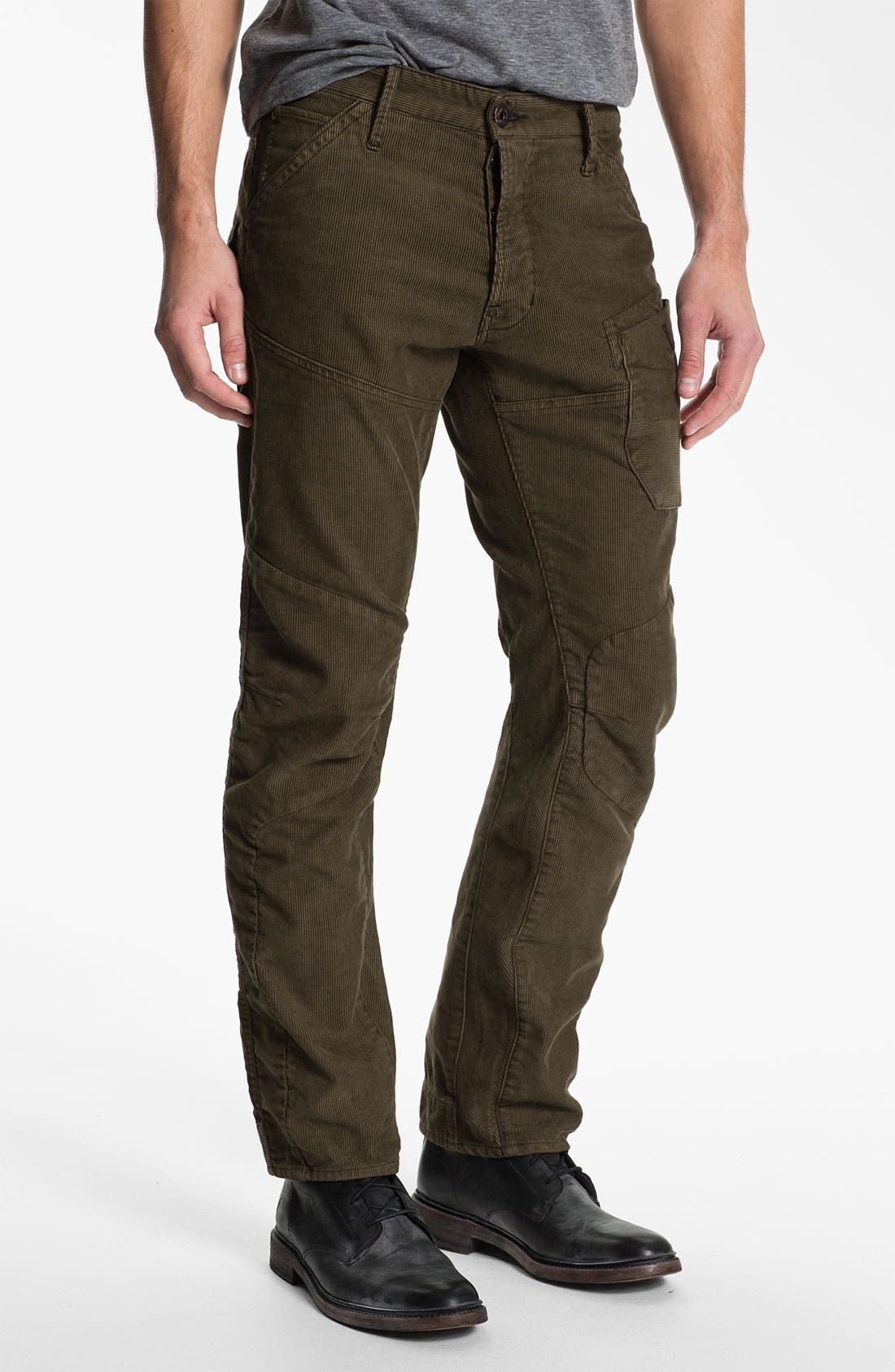 Alternate Image 2  - G-Star Raw 'Skiff' Straight Leg Corduroy Pants