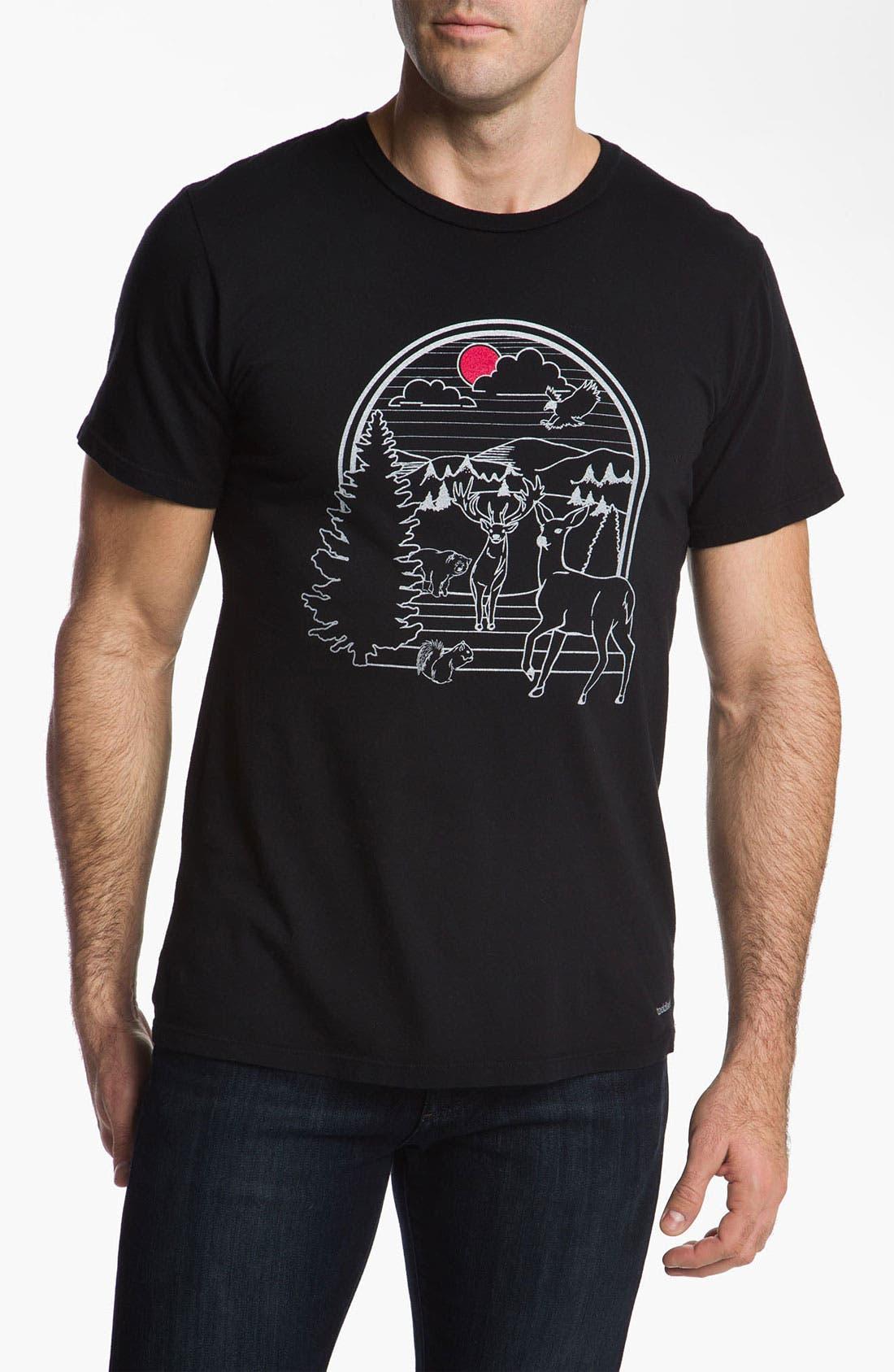 Main Image - Toddland 'Linear Nature' T-Shirt
