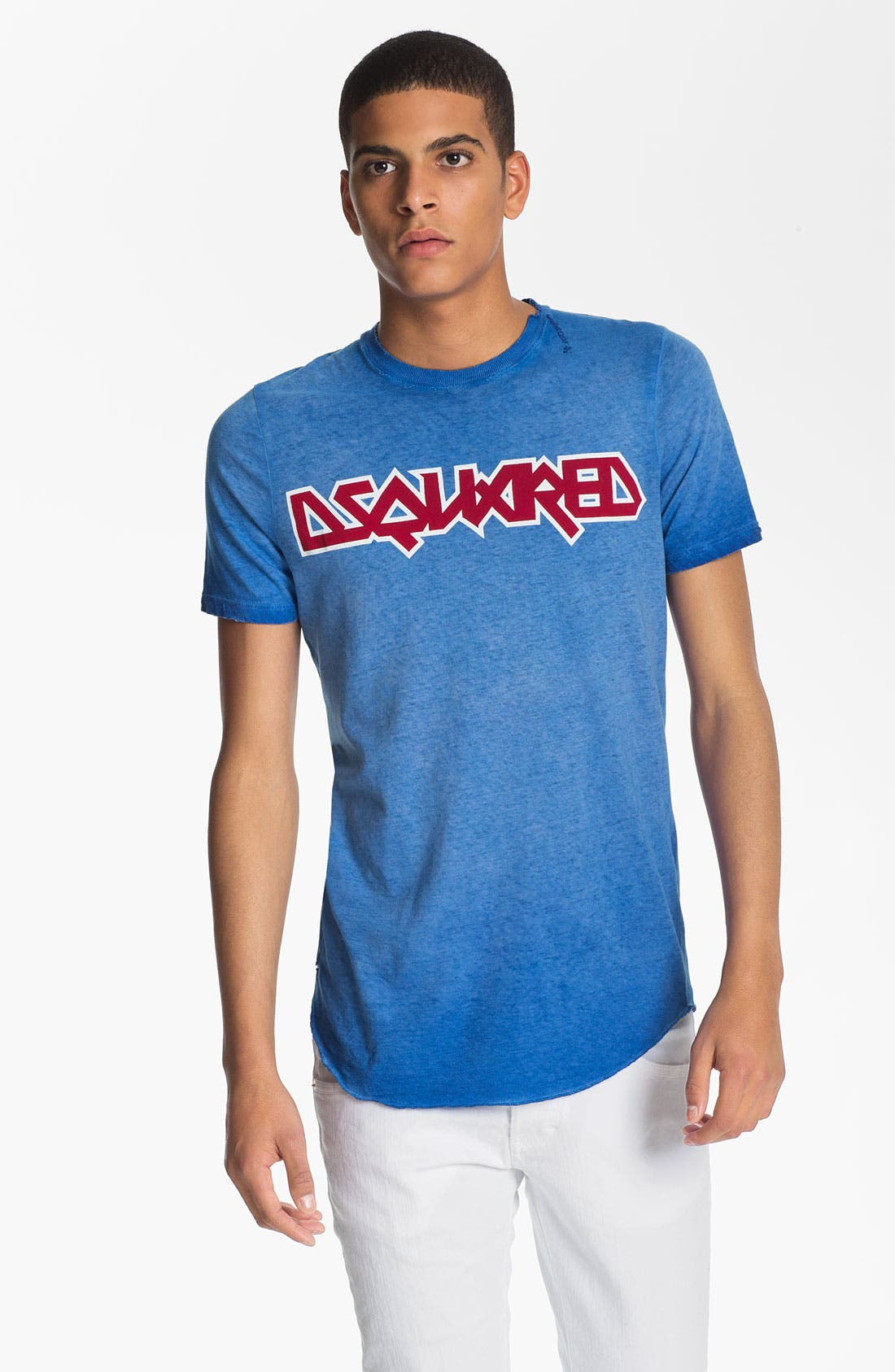 Alternate Image 1 Selected - Dsquared2 Logo Print T-Shirt