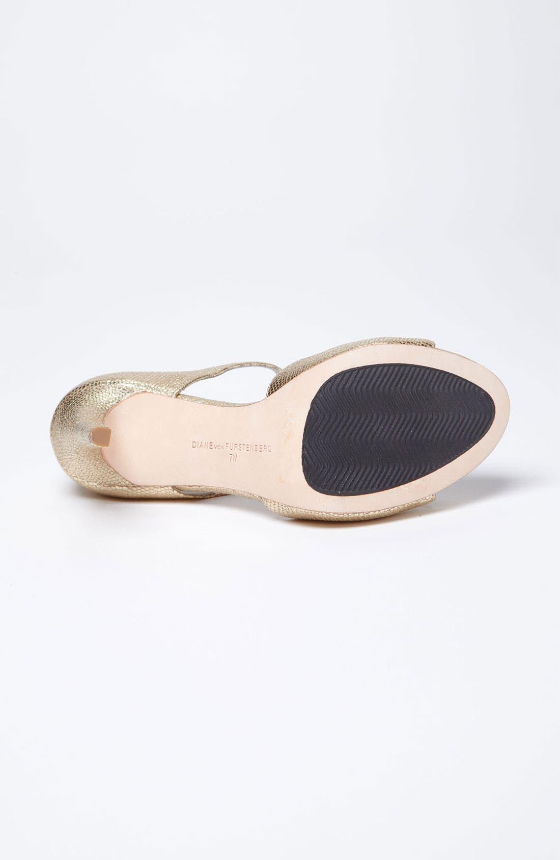 Alternate Image 4  - Diane von Furstenberg 'Jujette' Sandal (Online Only)