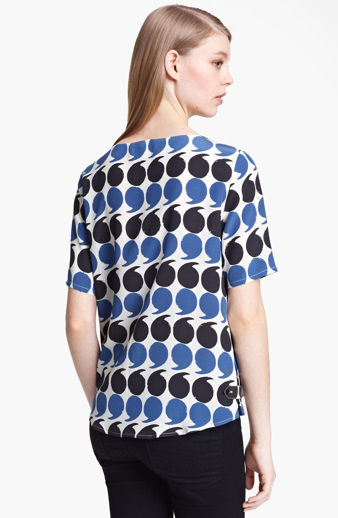 Alternate Image 2  - Band of Outsiders Punctuation Print Top