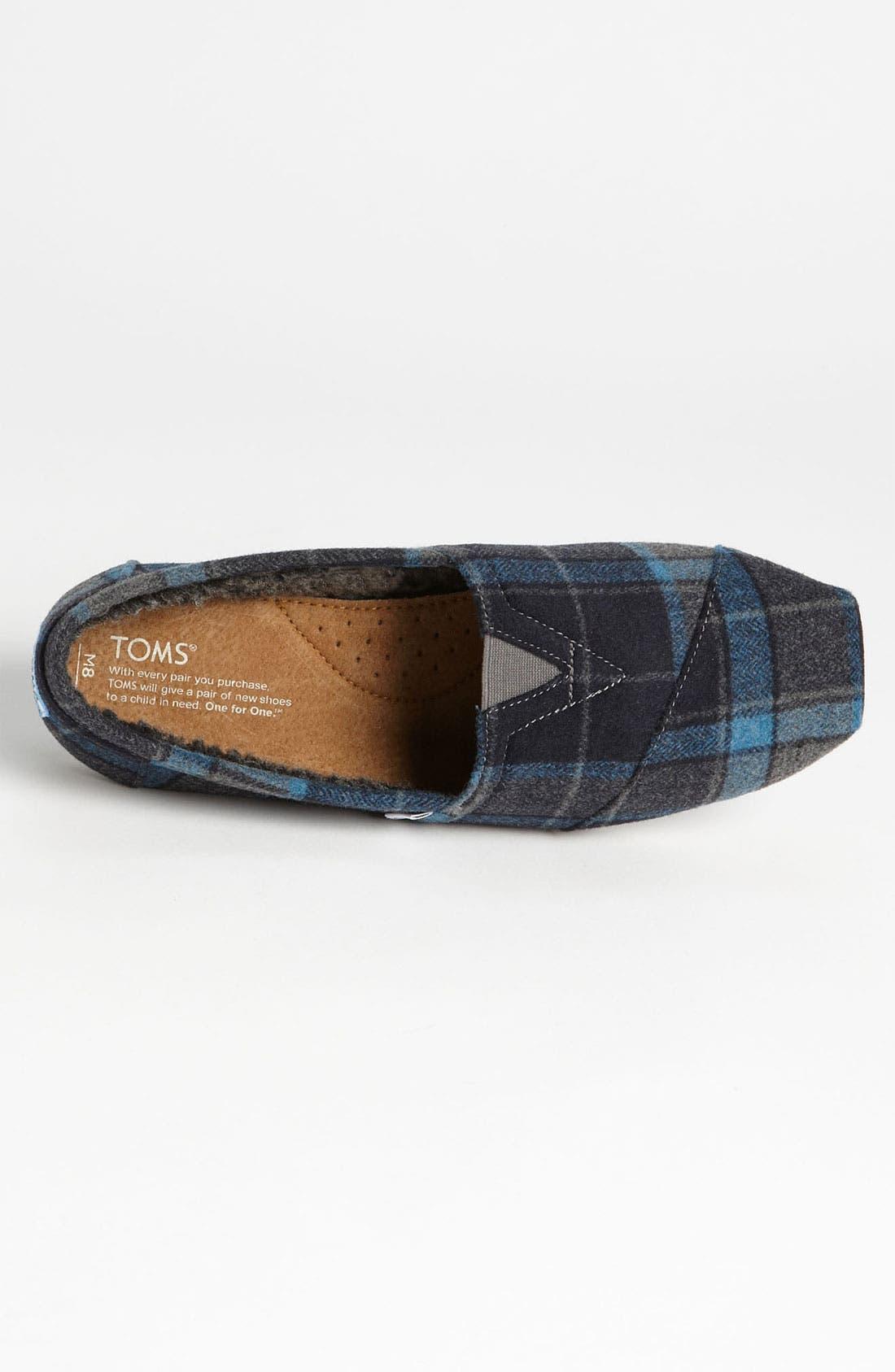 Alternate Image 3  - TOMS 'Classic' Wool Slip-On (Men)