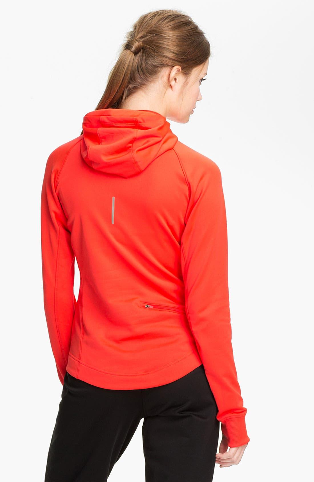 Alternate Image 2  - Nike 'Element' Thermal Half Zip Hoodie