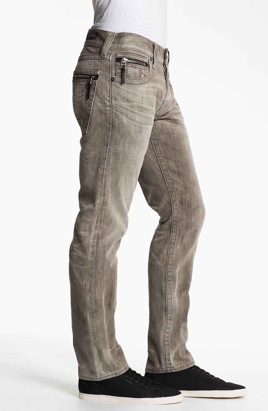 Alternate Image 3  - True Religion Brand Jeans 'Rocco' Slim Straight Leg Jeans (Ashland) (Online Exclusive)