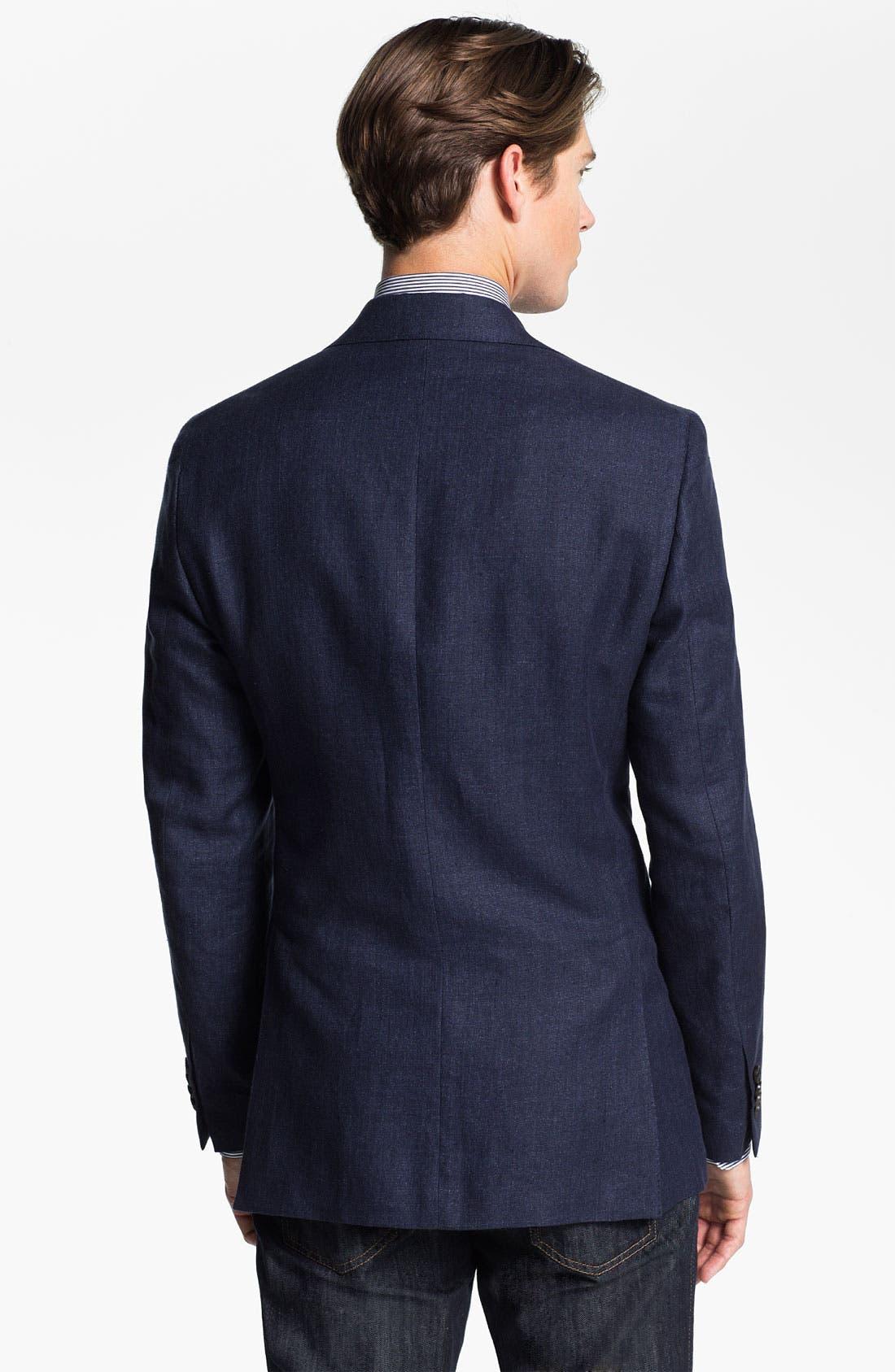 Alternate Image 2  - Salvatore Ferragamo Wool Blend Blazer