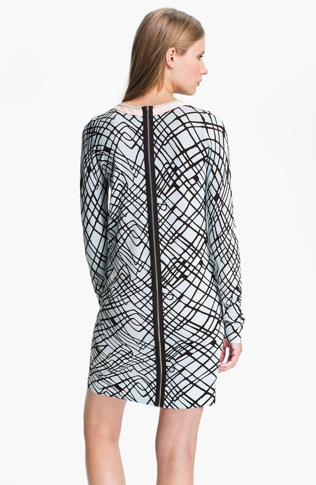 Alternate Image 2  - Diane von Furstenberg 'Janetta' Print Shift Dress