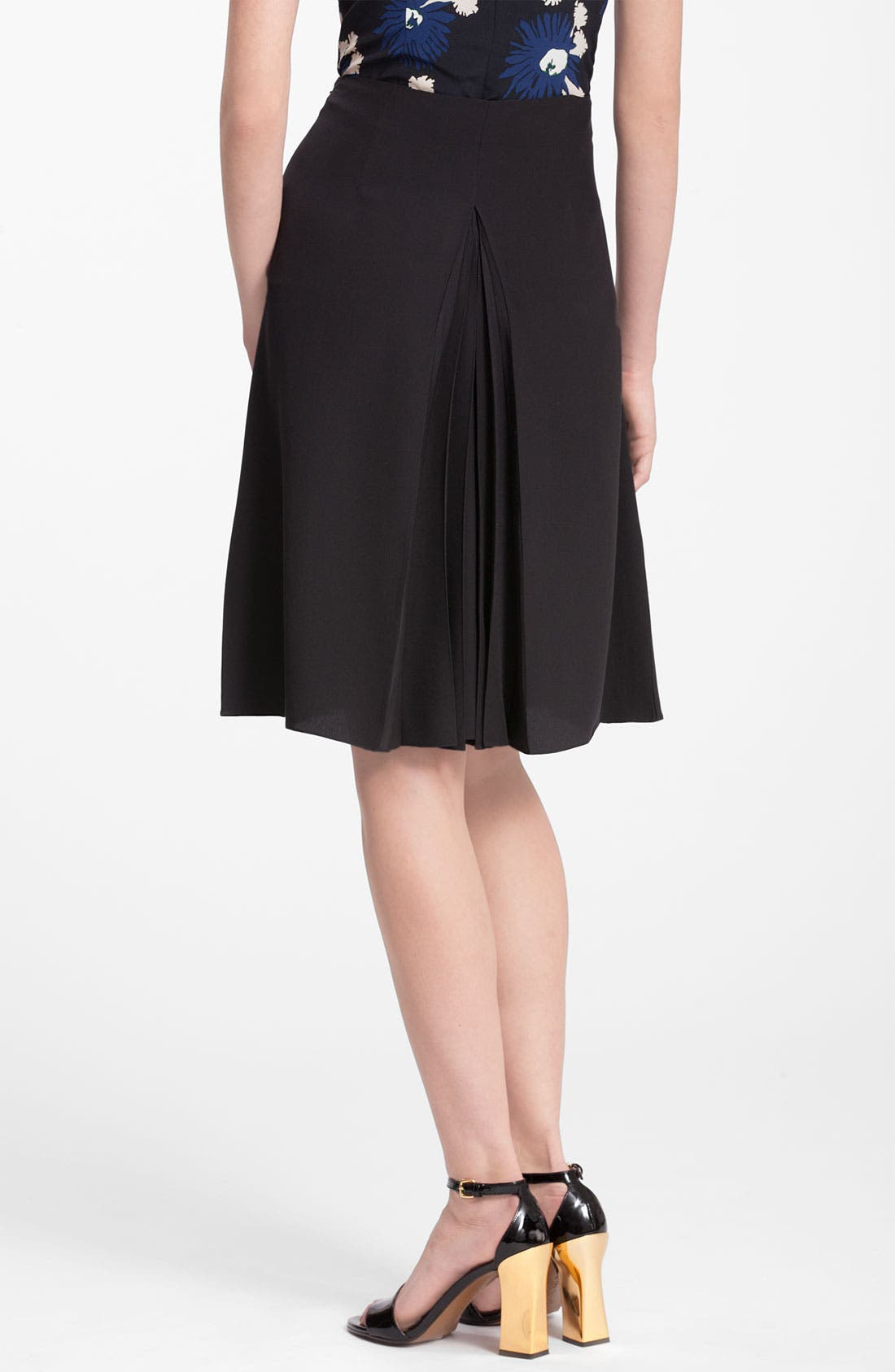 Alternate Image 2  - Marni Flare Detail Silk Skirt