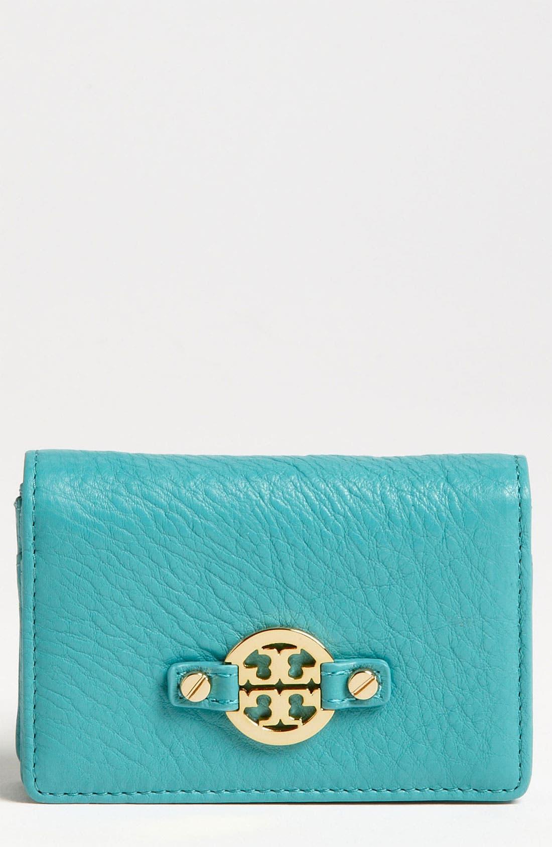 Main Image - Tory Burch 'Amanda' Foldable Card Case