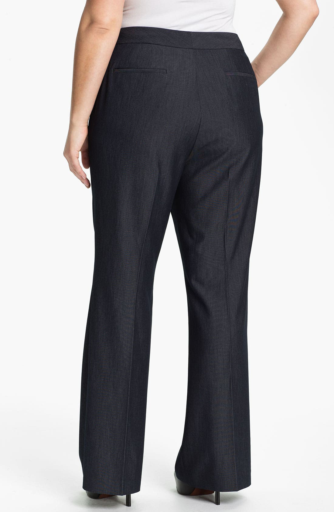 Alternate Image 2  - Tahari Woman 'Merlin' Pants (Plus)