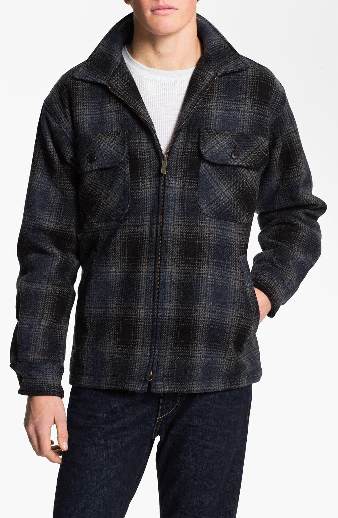 Alternate Image 1 Selected - Pendleton Plaid Wool Shirt Jacket