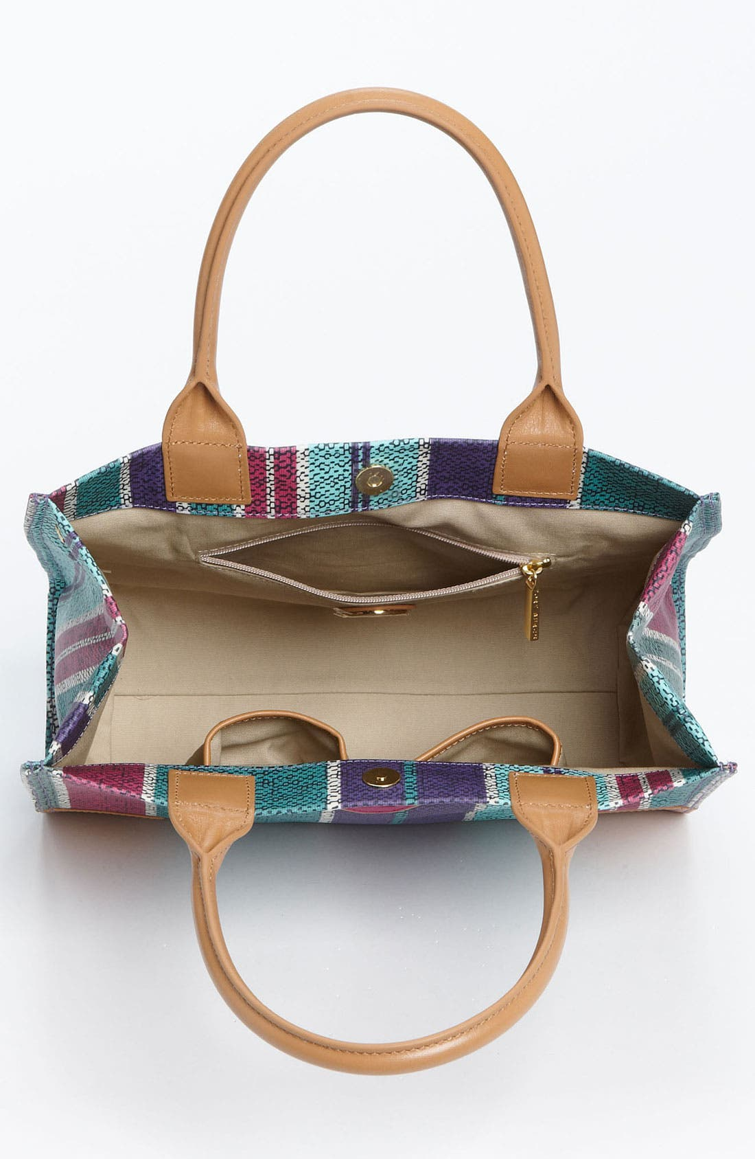 Alternate Image 3  - Tory Burch 'Mini' Coated Canvas Tote