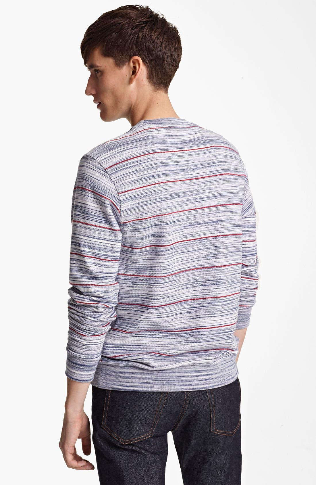 Alternate Image 2  - Missoni Stripe Crewneck Sweatshirt