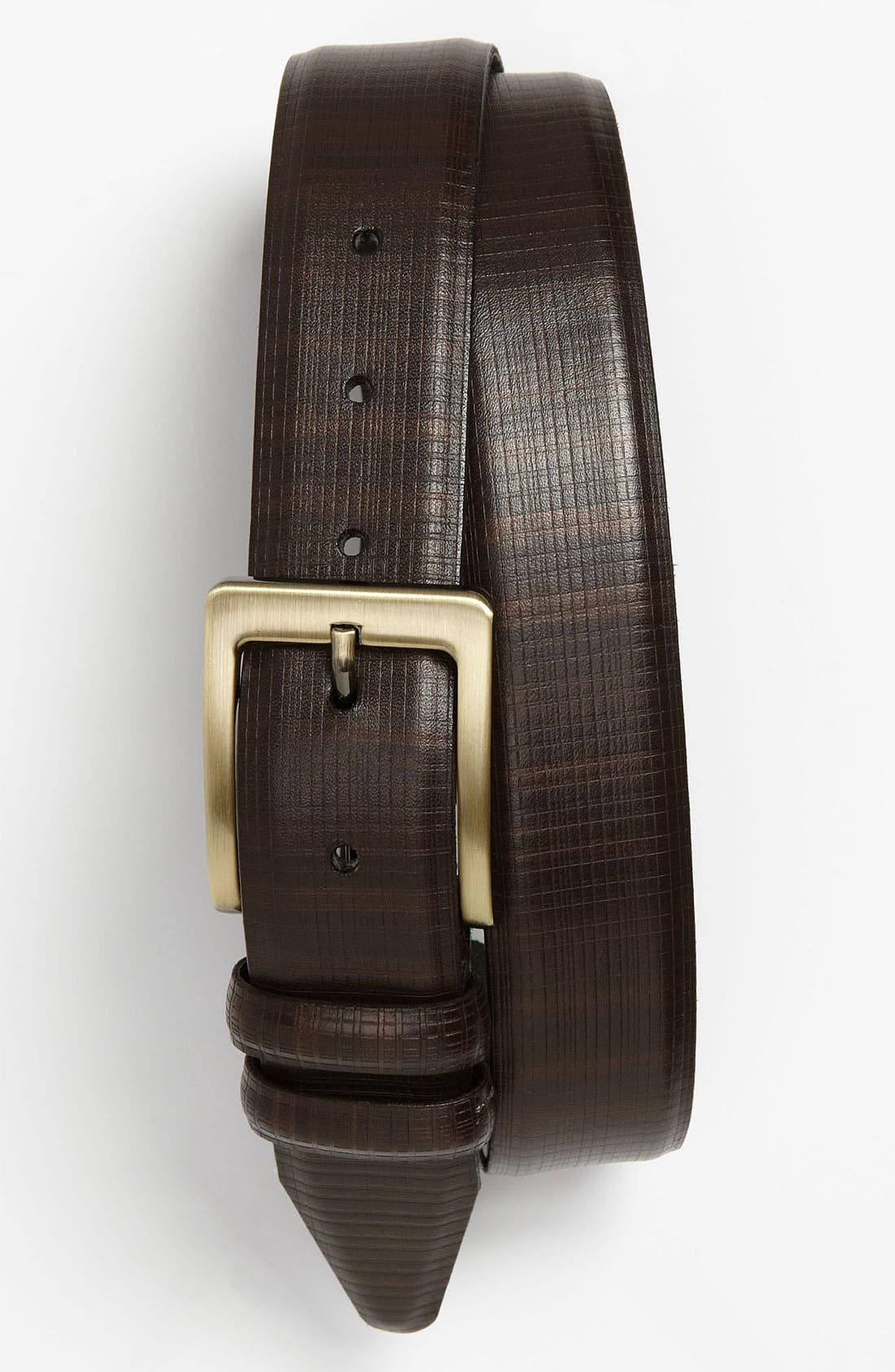 Alternate Image 1 Selected - Nordstrom Two Tone Leather Belt
