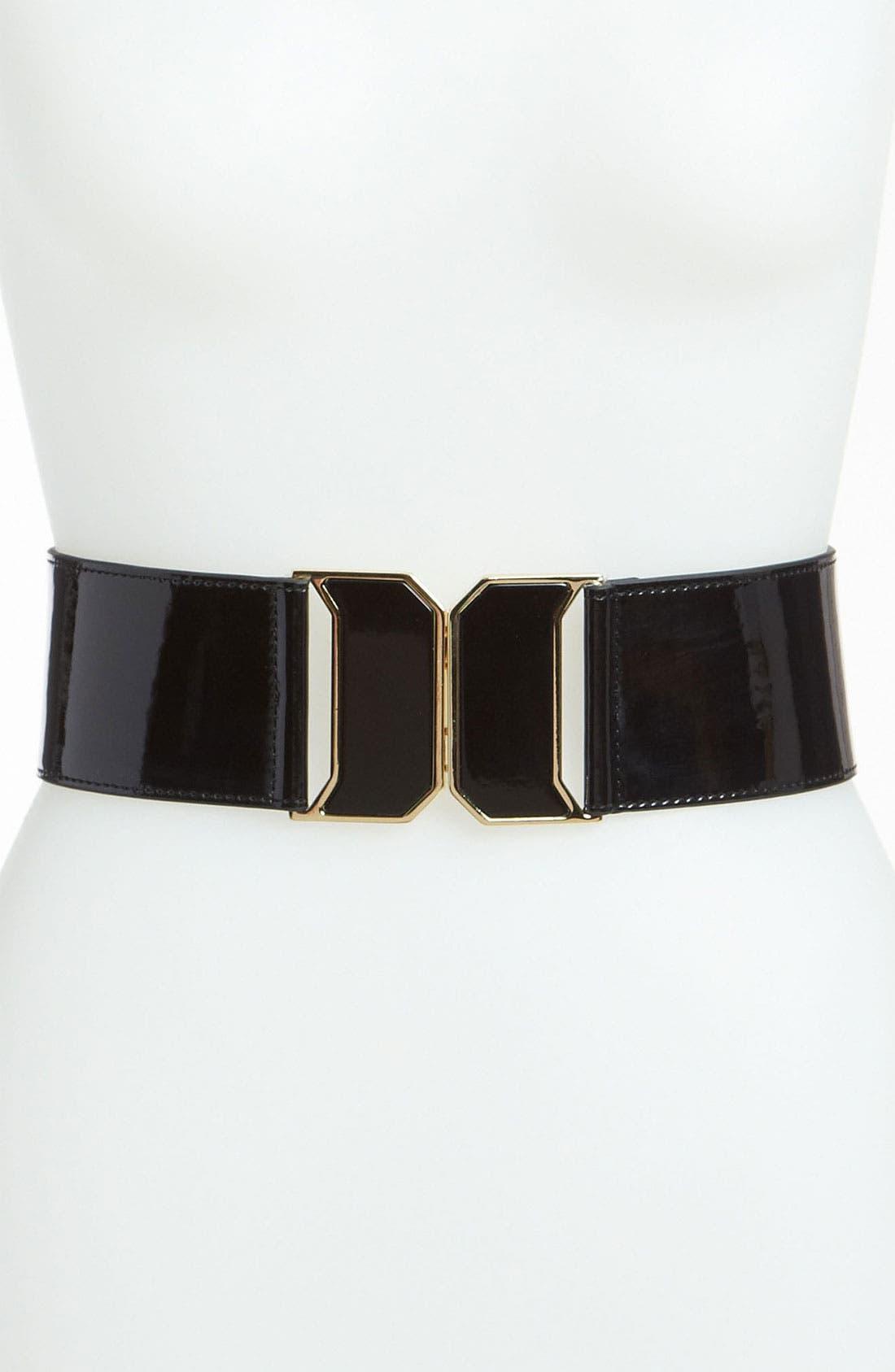 Main Image - Betsey Johnson 'Vintage Deco' Stretch Belt