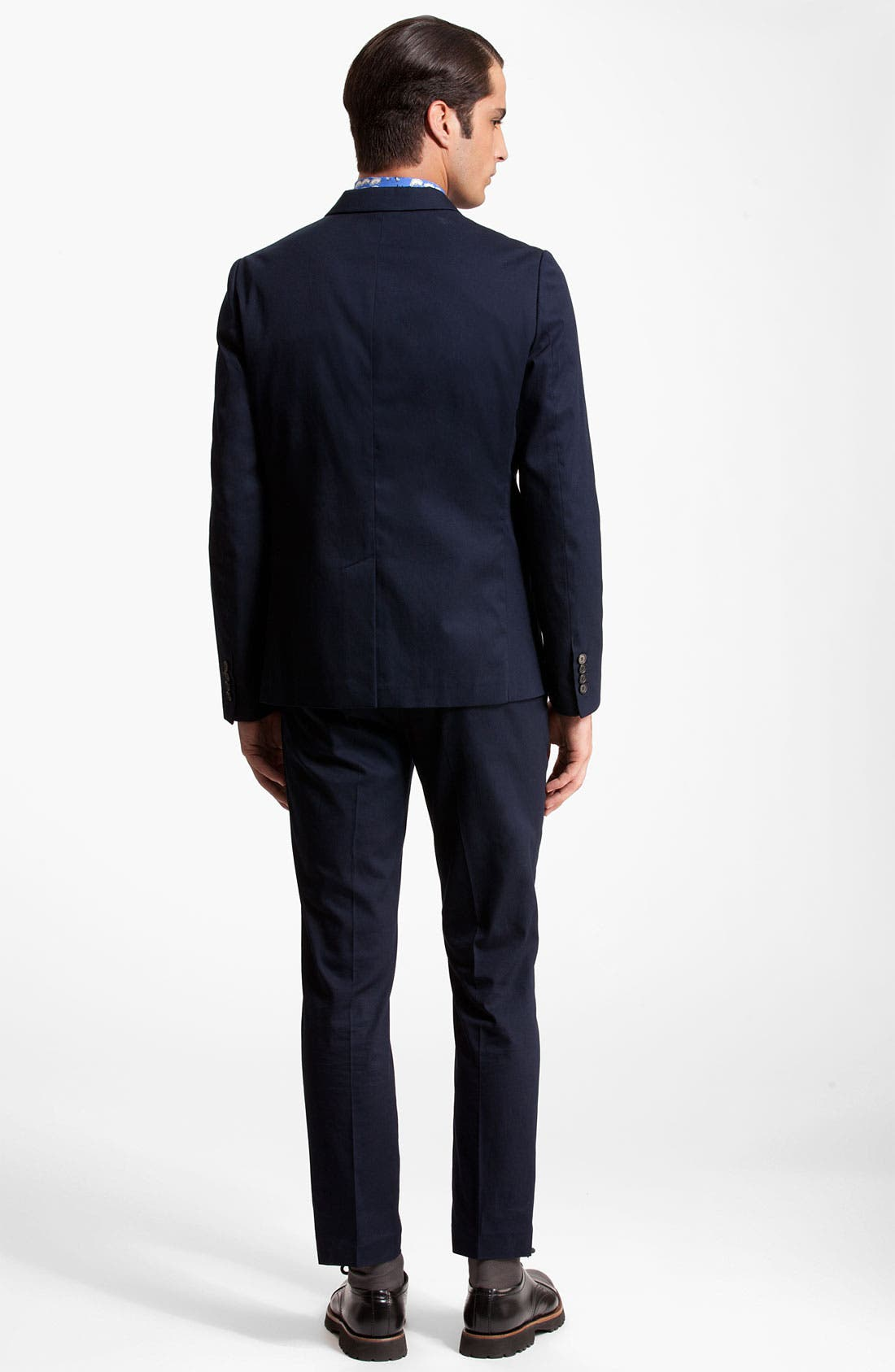 Alternate Image 5  - Marni Three Button Cotton Twill Blazer