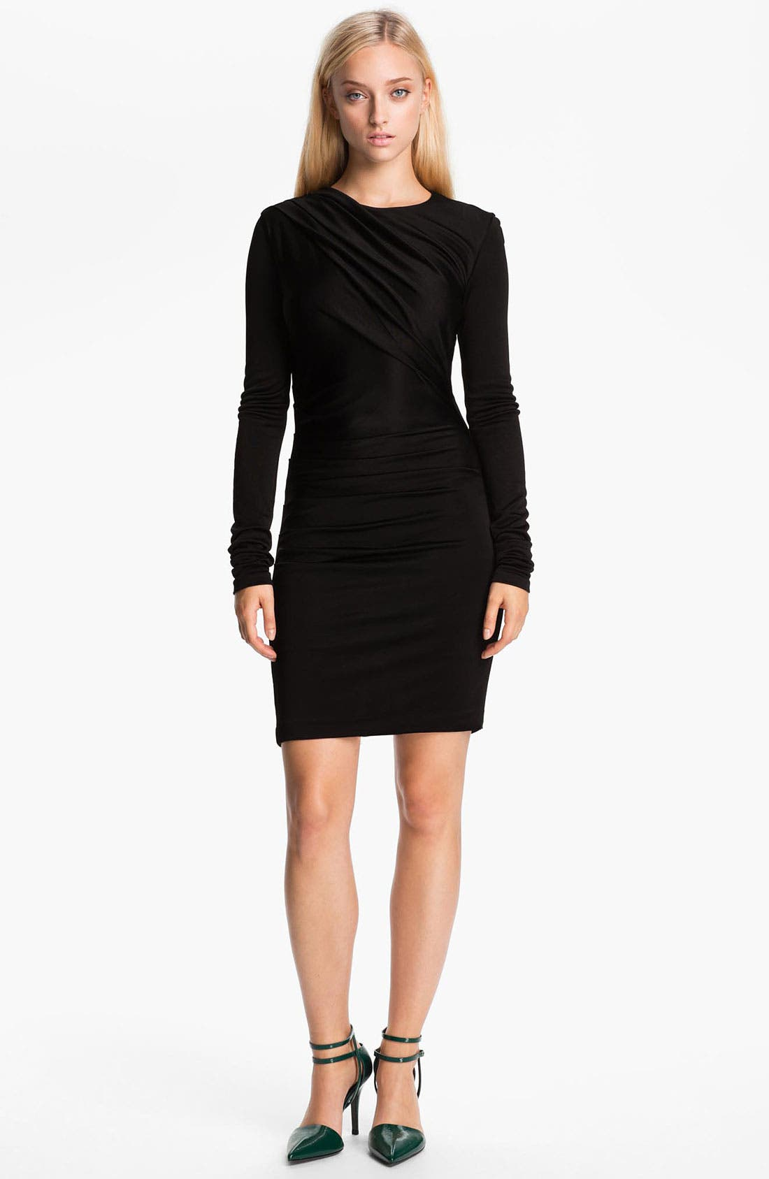 Main Image - T by Alexander Wang Piqué Double Knit Dress