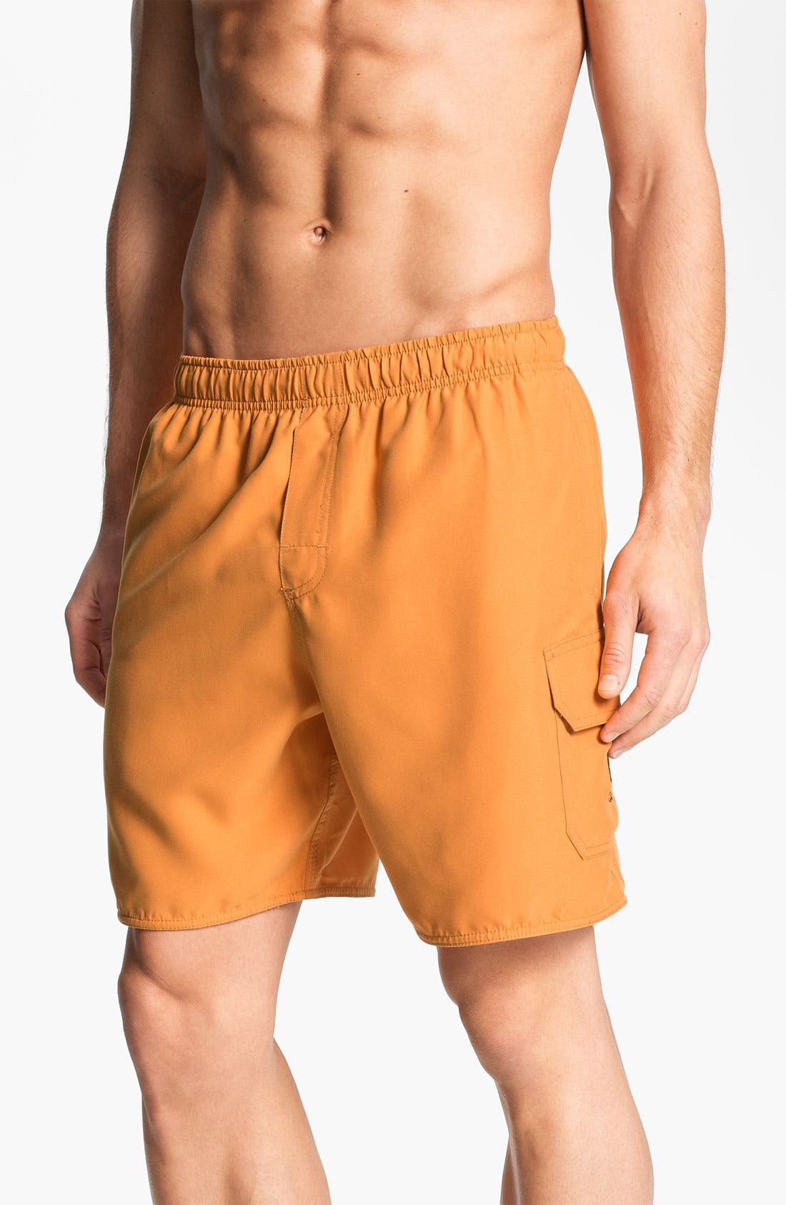 Alternate Image 1 Selected - Quiksilver Waterman Collection 'Balance' Swim Shorts