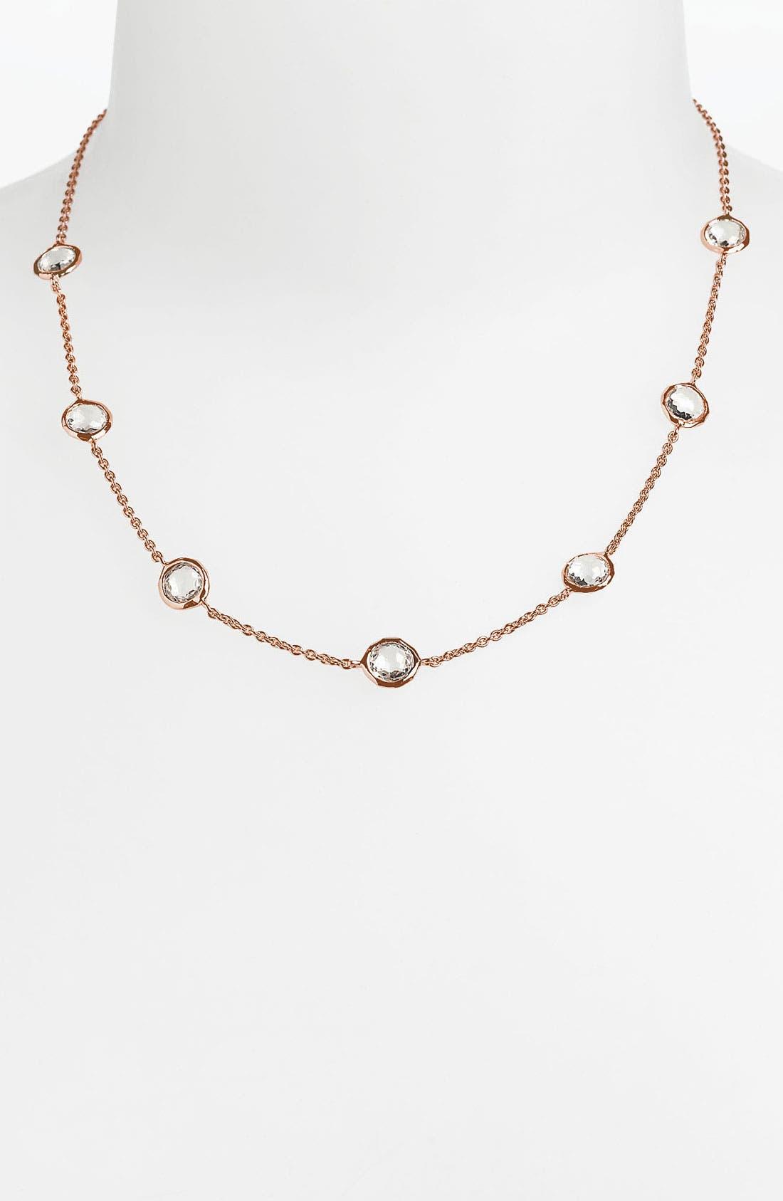 Main Image - Ippolita 'Rock Candy' 7-Station Lollipop Rosé Necklace