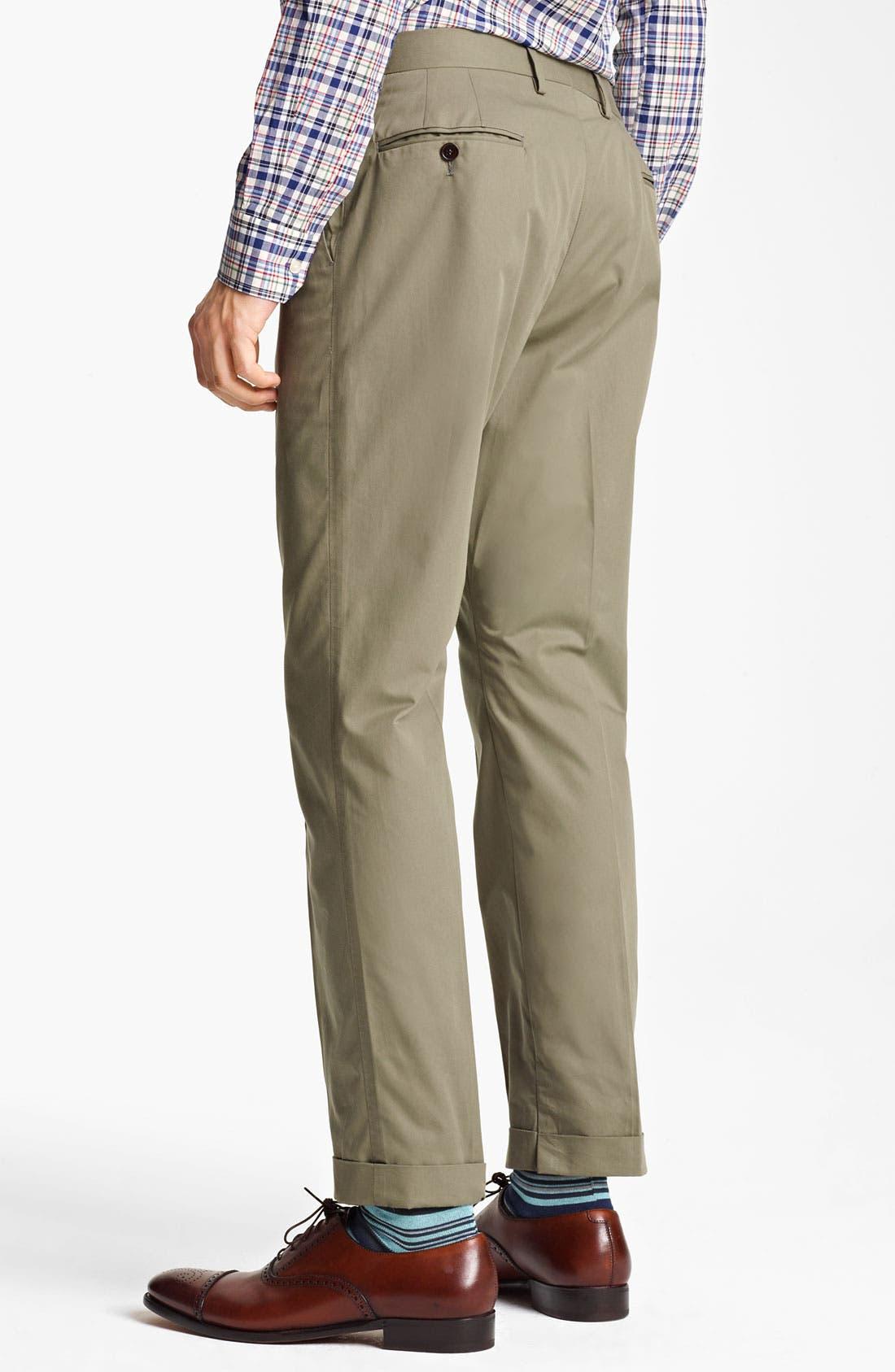 Alternate Image 5  - Paul Smith London Slim Fit Cotton Suit