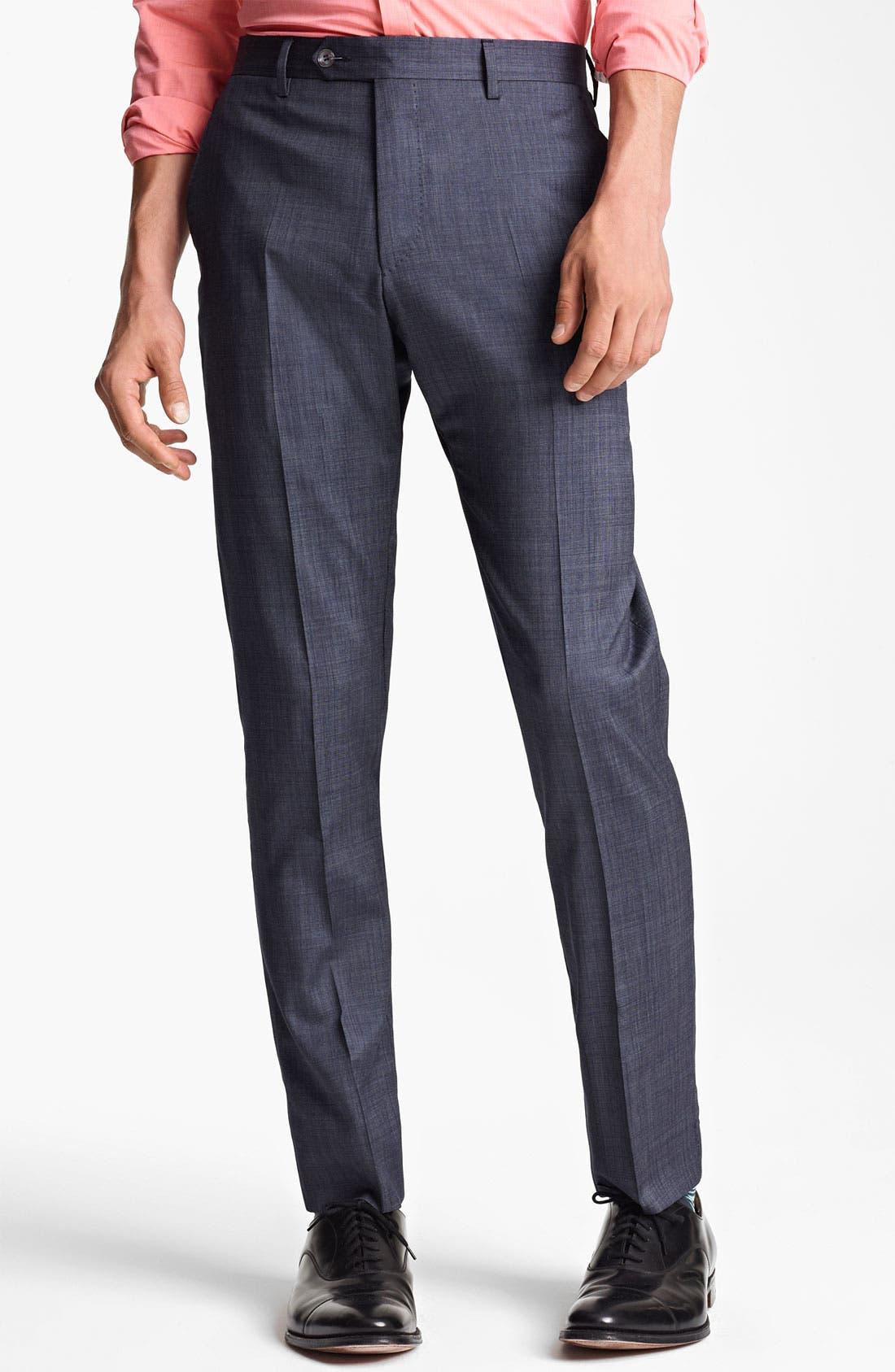 Alternate Image 4  - Paul Smith London Slim Fit Wool & Cotton Suit