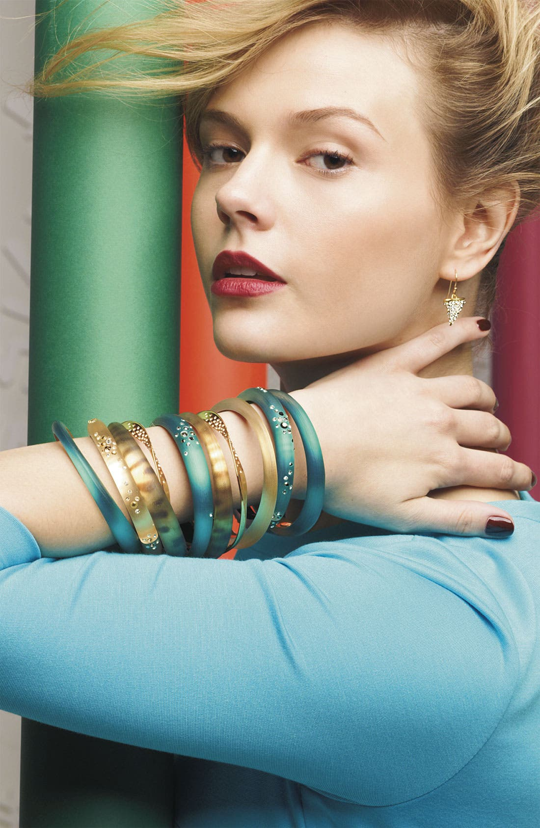 Alternate Image 2  - Alexis Bittar 'Lucite® - Dust' Small Hinged Bracelet (Nordstrom Exclusive)