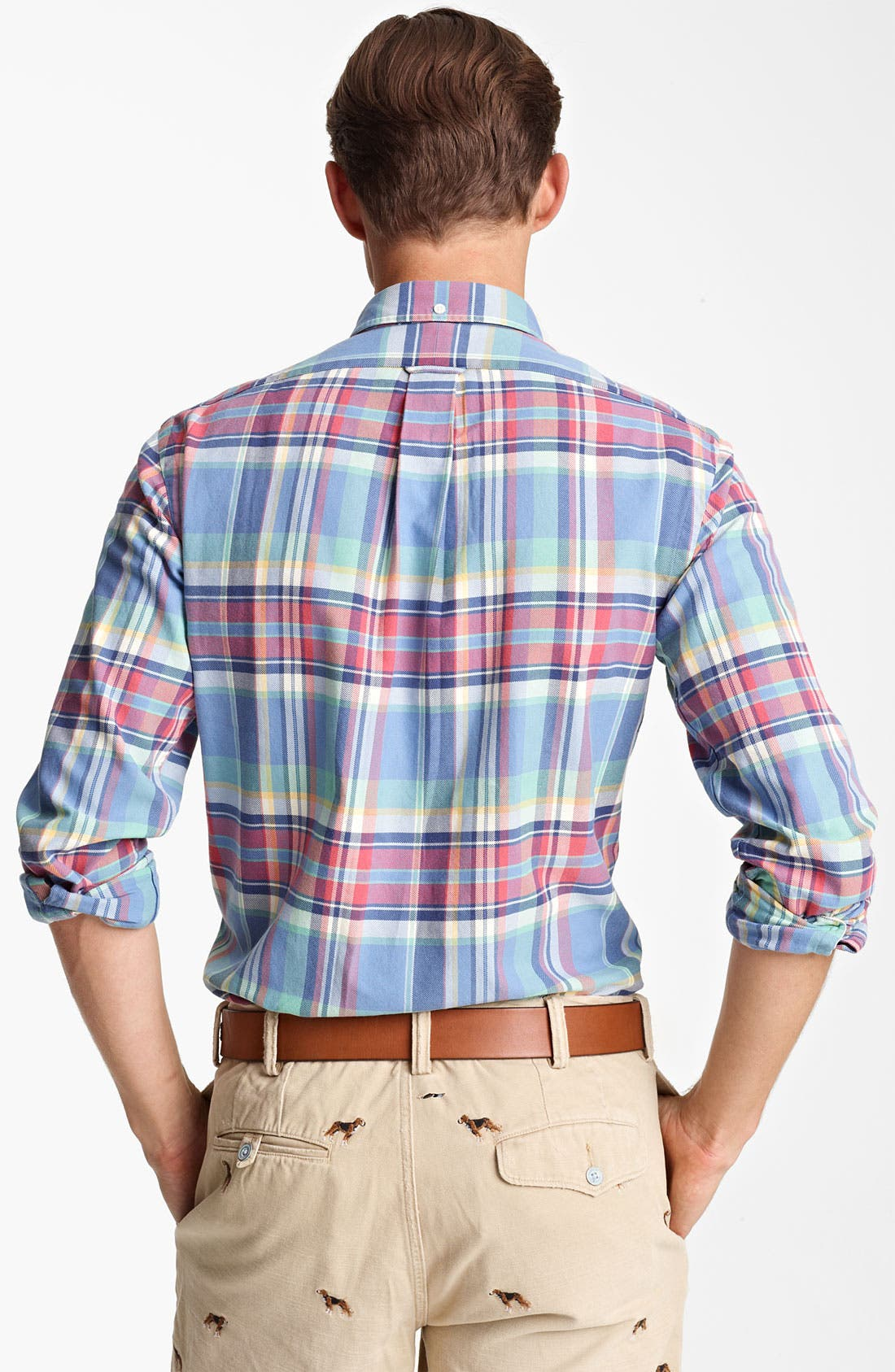 Alternate Image 2  - Polo Ralph Lauren 'Bleecker' Custom Fit Sport Shirt