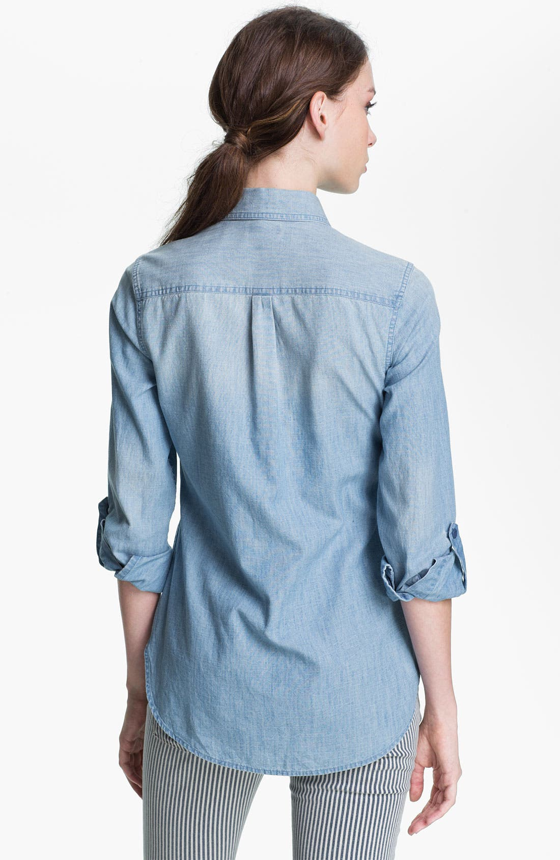 Alternate Image 2  - Lucky Brand 'Brooke' Chambray Shirt