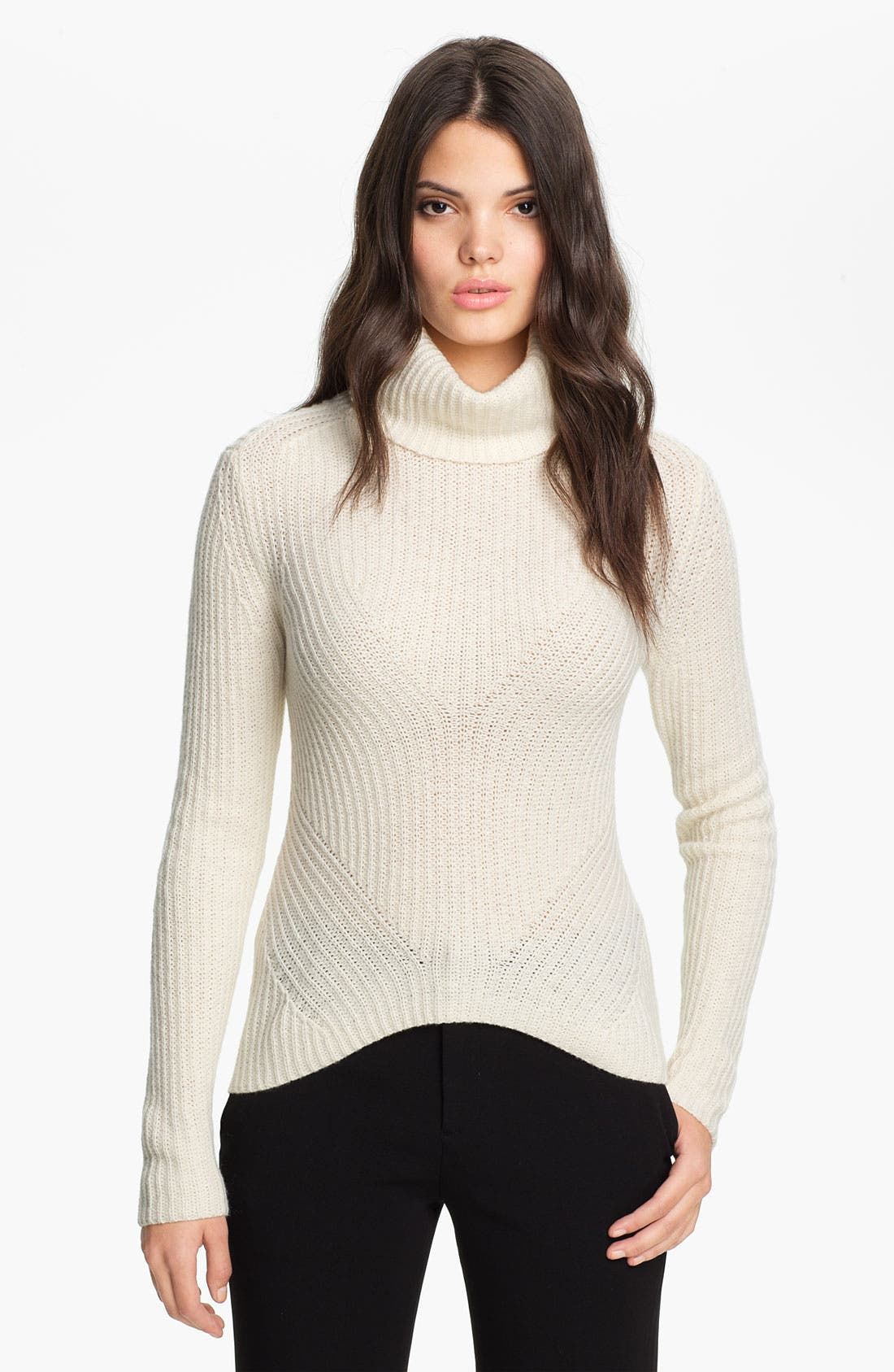 Main Image - Theyskens' Theory 'Kivi Yara' Wool Turtleneck