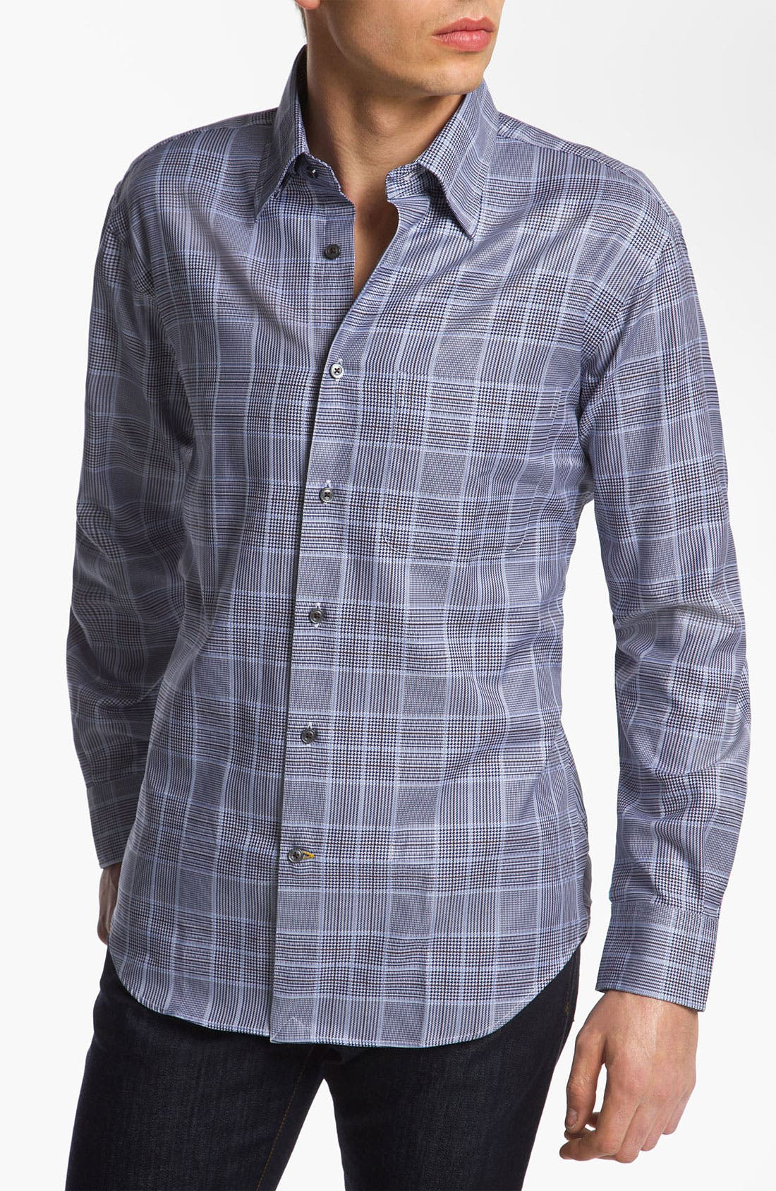 Alternate Image 1 Selected - Robert Talbott Woven Sport Shirt