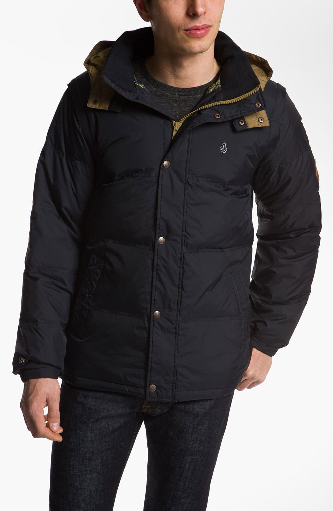 Main Image - Volcom 'Dabbling' Quilted Parka