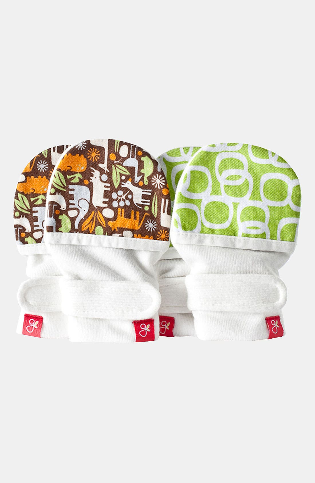 Alternate Image 1 Selected - Guavamitts Mittens (Set of 2) (Infant)