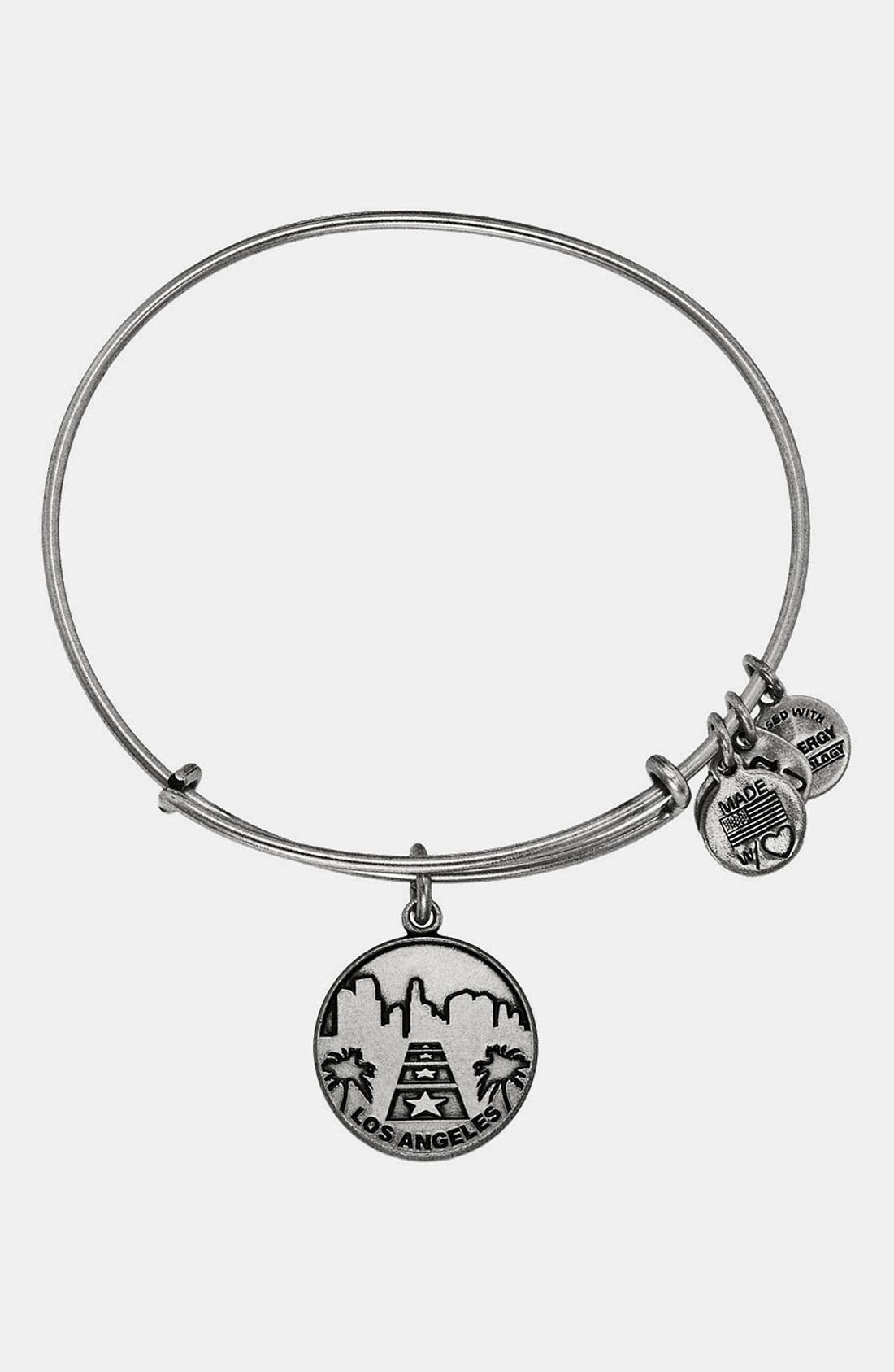 Main Image - Alex and Ani 'Los Angeles' Expandable Wire Bangle