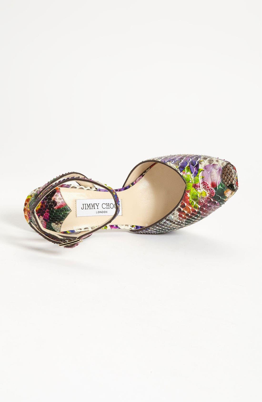 Alternate Image 3  - Jimmy Choo 'Lola' Ankle Strap Sandal