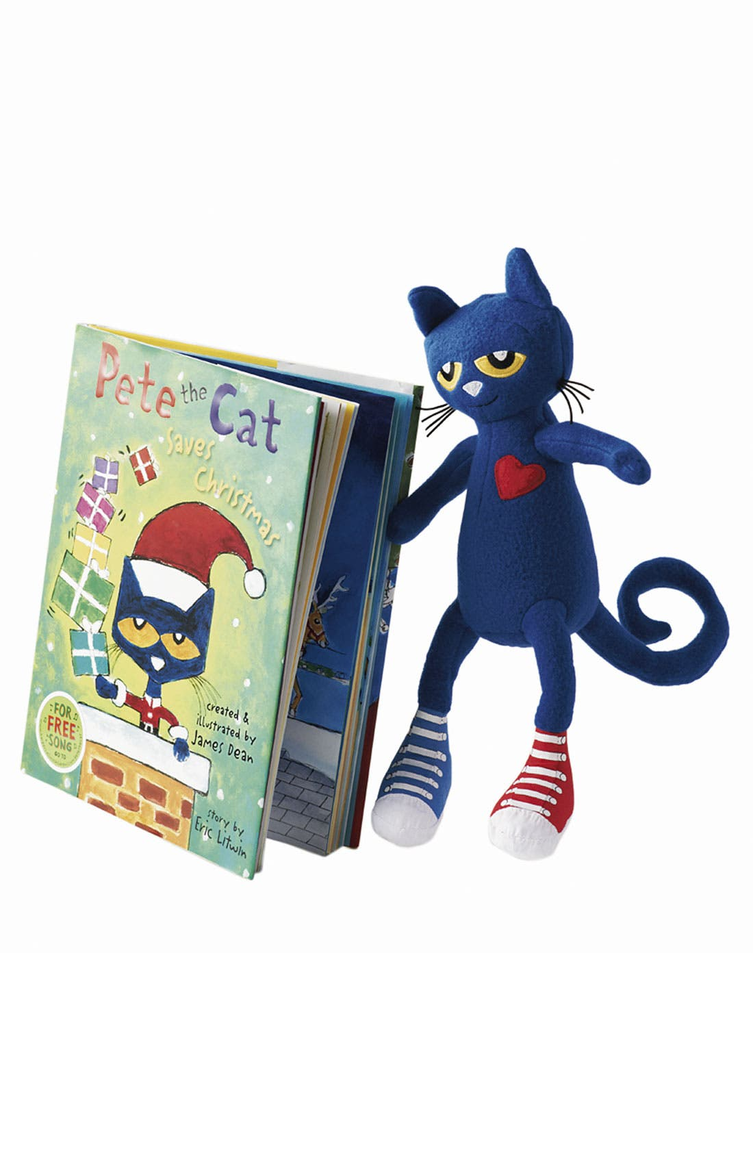 Alternate Image 2  - James Dean & Eric Litwin 'Pete the Cat Saves Christmas' Story Book