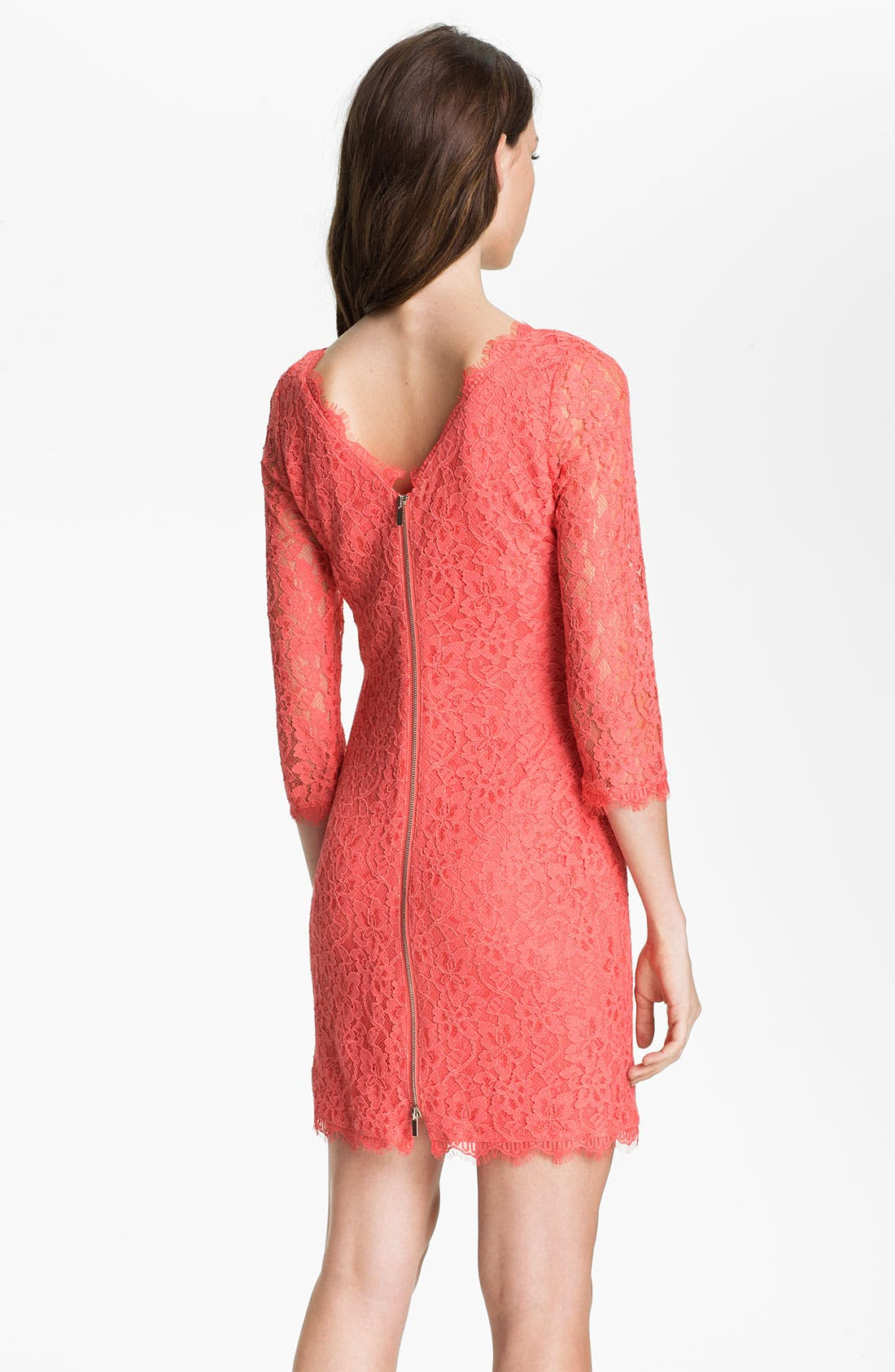 Alternate Image 2  - Diane von Furstenberg 'Zarita' Lace Dress