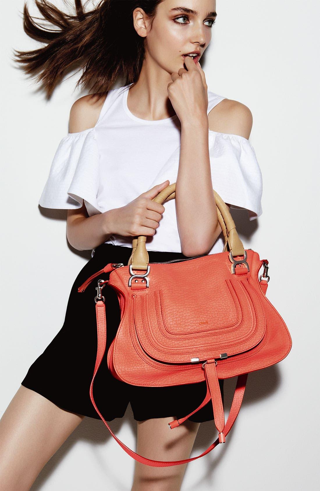 Alternate Image 5  - Chloé 'Marcie - Small' Leather Satchel