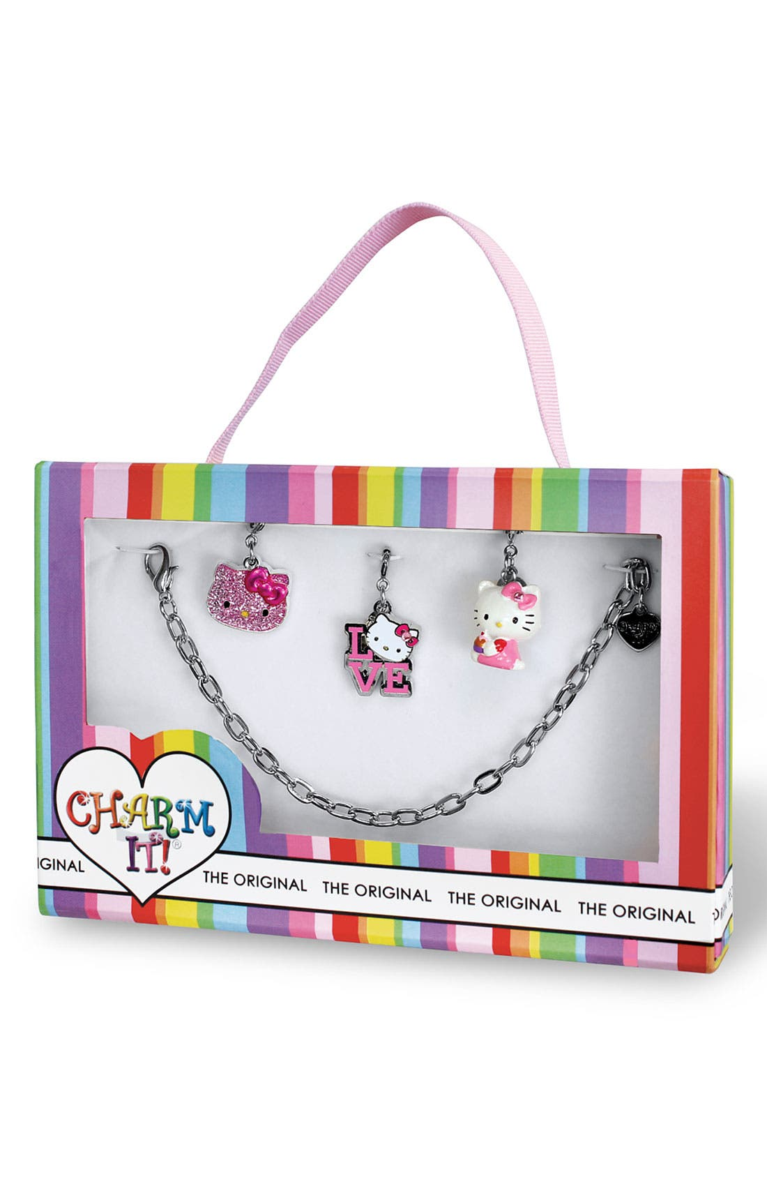 Alternate Image 2  - CHARM IT!® 'Hello Kitty®' Charm Bracelet (Girls)