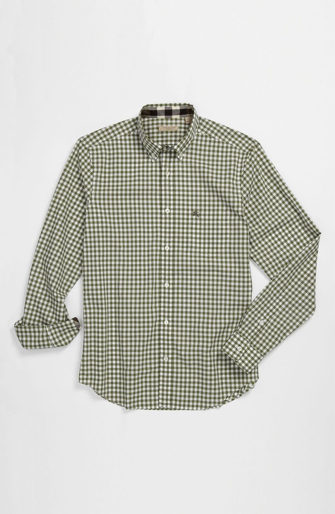 Alternate Image 4  - Burberry Brit Gingham Check Sport Shirt