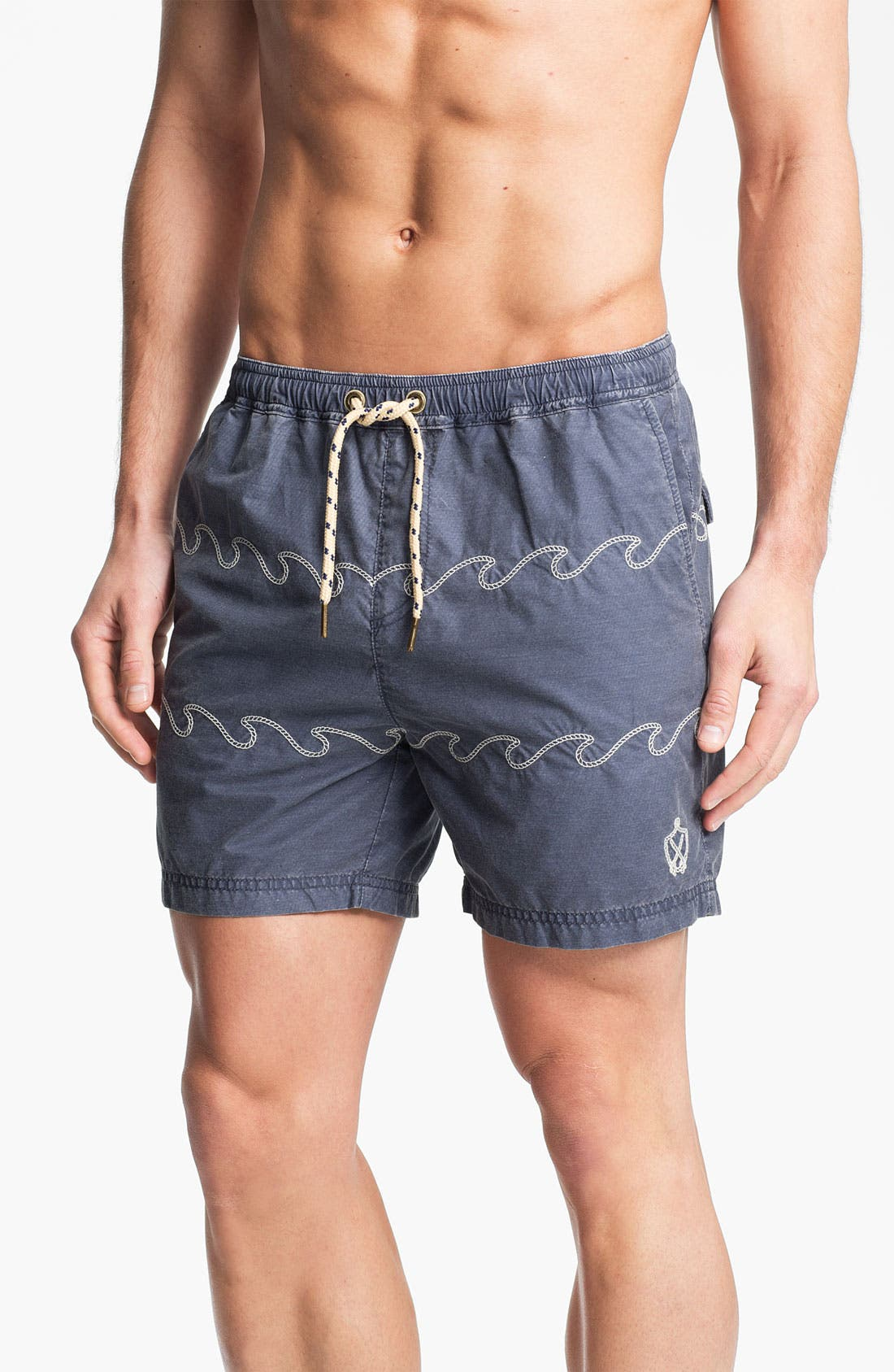Alternate Image 1 Selected - Zanerobe 'No Comply' Swim Trunks (Online Exclusive)
