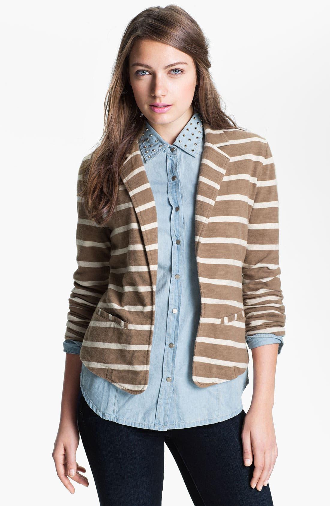 Main Image - Caslon® Roll Sleeve Jacket