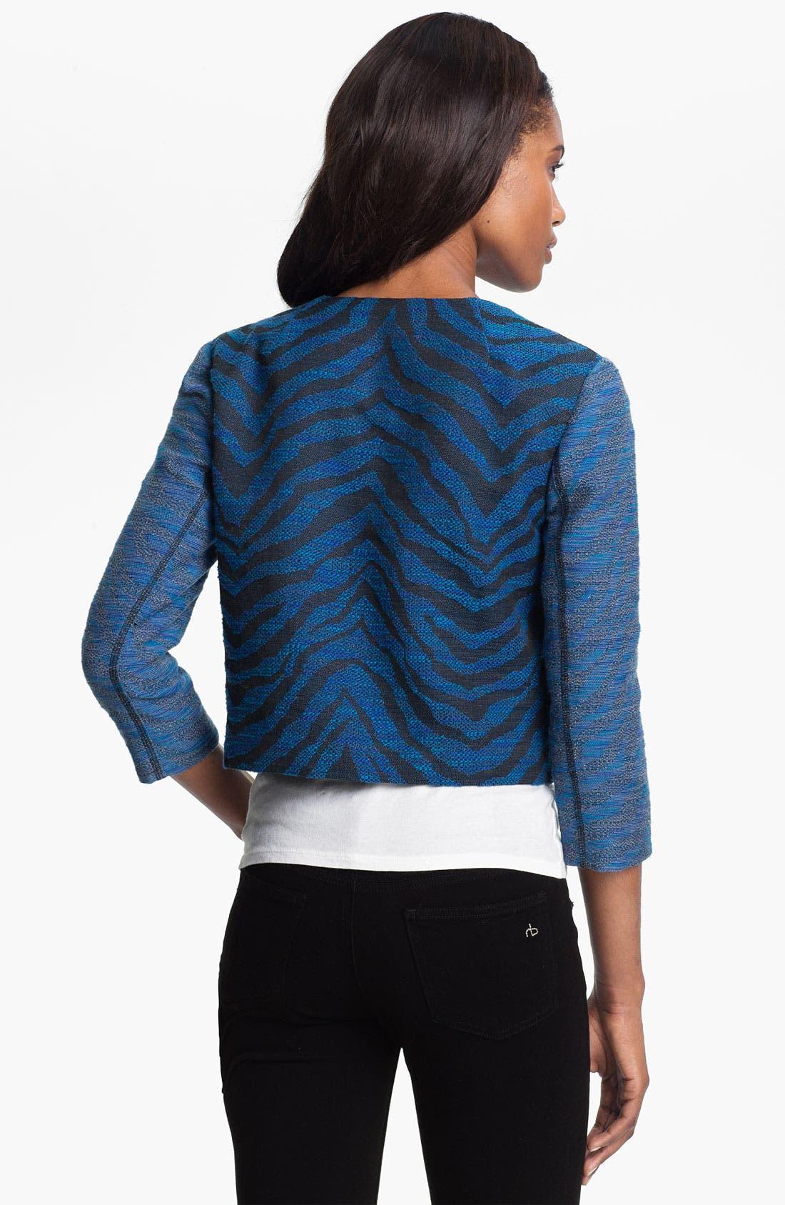 Alternate Image 2  - Gryphon Zebra Jacquard Jacket