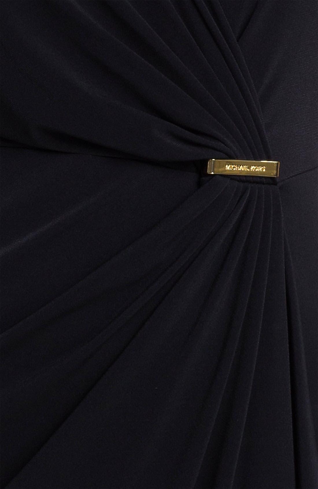Alternate Image 3  - MICHAEL Michael Kors Cap Sleeve Faux Wrap Dress